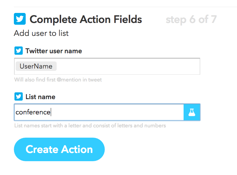 Twitter auto-list screenshot step 3